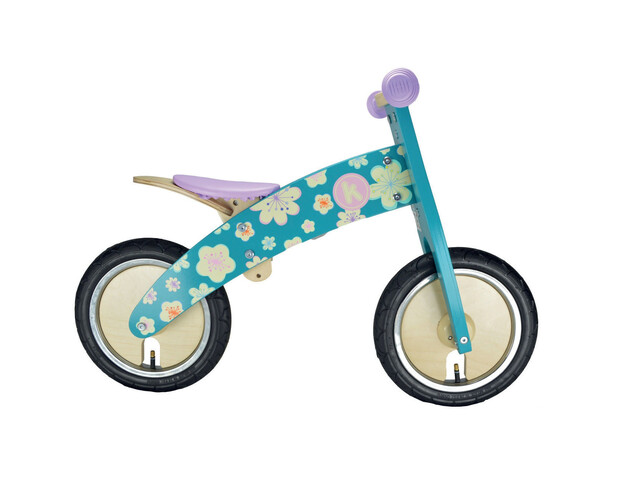 Kiddimoto Kurve Rower biegowy Dzieci fioletowy/turkusowy